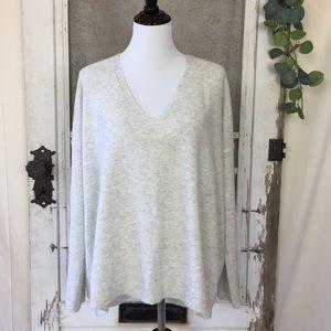 Vince 100% Cashmere Pullover V Neck Sweater L